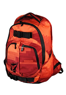 VOLCOM Equilibrium Backpack 2012 red combo