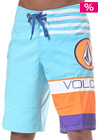 Euro Stripe Boardshort blue drift wash europe