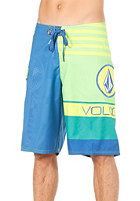 VOLCOM Euro Stripe Shorts electric green
