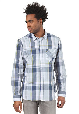 VOLCOM Ex Factor Plaid L/S Shirt pale blue