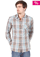 VOLCOM Ex Factor Plaid Shirt arctic blue