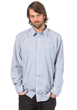 VOLCOM Ex Factor Stripe Heather L/S Shirt blue moon