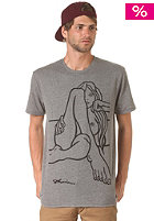 VOLCOM Fa Jamie Lynn S/S T-Shirt heather black