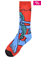 VOLCOM Fa Jamie Lynn Socks red