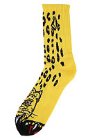 VOLCOM Fajimbo Philipps Puppet Sock yellow jaguar