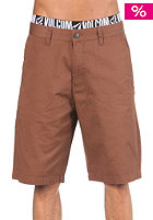 VOLCOM Frickin Art Solid Shorts chestnut brown