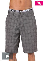 VOLCOM Frickin Plaid Shorts charcoal heather