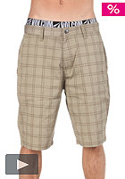 VOLCOM Frickin Plaid Shorts khaki