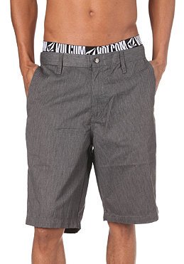 VOLCOM Frickin Stripe Shorts charcoal heather
