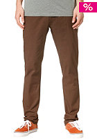 VOLCOM Frickin Tight Chino Pant dark brown