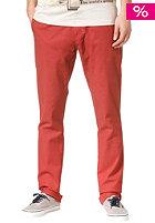 VOLCOM Frickin Tight Chino Pant stain red