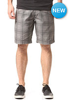 VOLCOM Frozen Plaid Reg Chino Short gunmetal grey