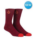 VOLCOM Full Stone Socks crimson