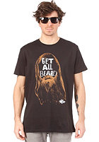 VOLCOM Get All Beard Vent S/S T-Shirt black