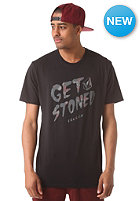 VOLCOM Get Stoned Vcological S/S T-Shirt tinted black