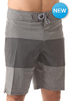 Heather Stripe 20 Boardshort gunmetal grey