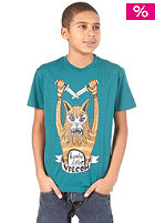 VOLCOM Hombre Lobo S/S T-Shirt strobe green