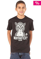 VOLCOM Hoo Farted S/S T-Shirt black