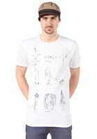 VOLCOM Human Nature VCO Logical S/S T-Shirt white