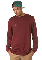 VOLCOM Icon Crew Fleece burgundy