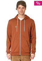VOLCOM Icon Hooded Zip Fleece bear brown