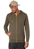 VOLCOM Icon Hooded Zip Fleece military