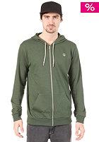 VOLCOM Icon Hooded Zip Sweat Fleece expedition green