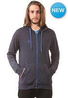 VOLCOM Icon Slim Hooded Zip Sweat blue black