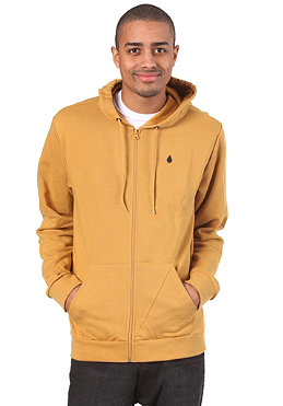 VOLCOM Icon Slim Hooded Zip Sweat vintage gold