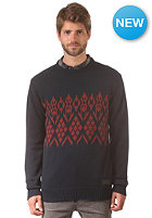 VOLCOM Impala II Crew Knit Sweat blue black