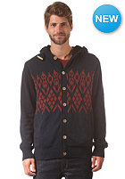 VOLCOM Impala II Hooded Zip Sweat blue black