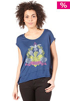 VOLCOM Indian Rain Knotted S/S T-Shirt navy