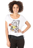 VOLCOM Indian Rain Knotted S/S T-Shirt white
