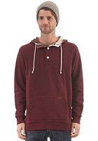 VOLCOM Individual Hooded Sweat heather maroon