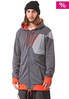 VOLCOM Isosceles Repelent Hooded Jacket charcoal