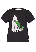 VOLCOM Kids Beach Is Boring Vcological S/S T-Shirt black