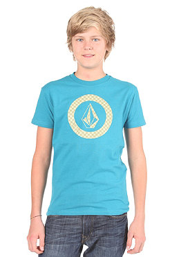 VOLCOM KIDS/ Boys Circle Check Basic S/S T-Shirt dark turquoise
