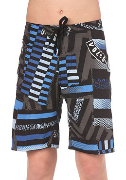 VOLCOM KIDS/ Boys Maguro Print Shorts shadow grey
