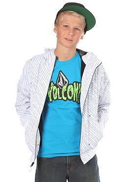 VOLCOM KIDS/ Boys Temper Windbreaker Jacket white