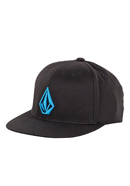 VOLCOM KIDS/ Boys The Stone Flex Fit Cap black/bright blue