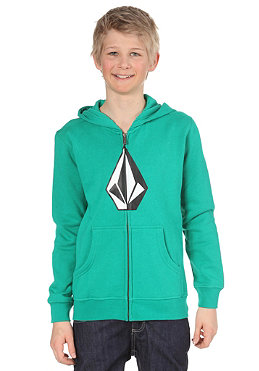 VOLCOM KIDS/ Boys The Stone Hooded Sweat emerald green