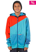 VOLCOM KIDS/ BulldogBlock Hooded Zip Fleece 2013 arctic blue