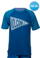 VOLCOM Kids Checked Out PJ Set S/S T-Shirt electric blue