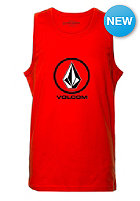VOLCOM Kids Circle Stone Basic Tank Top why rock red