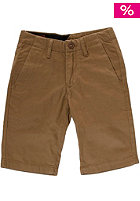 VOLCOM Kids Faceted Chino Short bronze