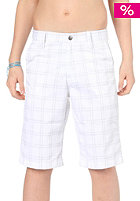 VOLCOM Kids Frickin Plaid Shorts white