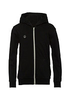 VOLCOM Kids Icon Fleece Hooded Zip Sweat black