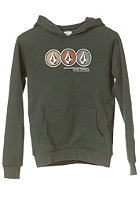 VOLCOM Kids Lined Up Hooded Sweat midnight green