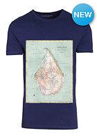 VOLCOM Kids Mapstone Lightweight S/S T-Shirt matured blue