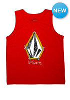 VOLCOM Kids Pencil Stone Tank Top why rock red